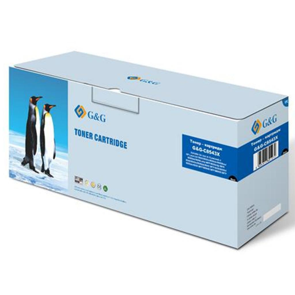 Картридж G&G для HP LJ 9000/9040/9050 Black (G&G-C8543X)