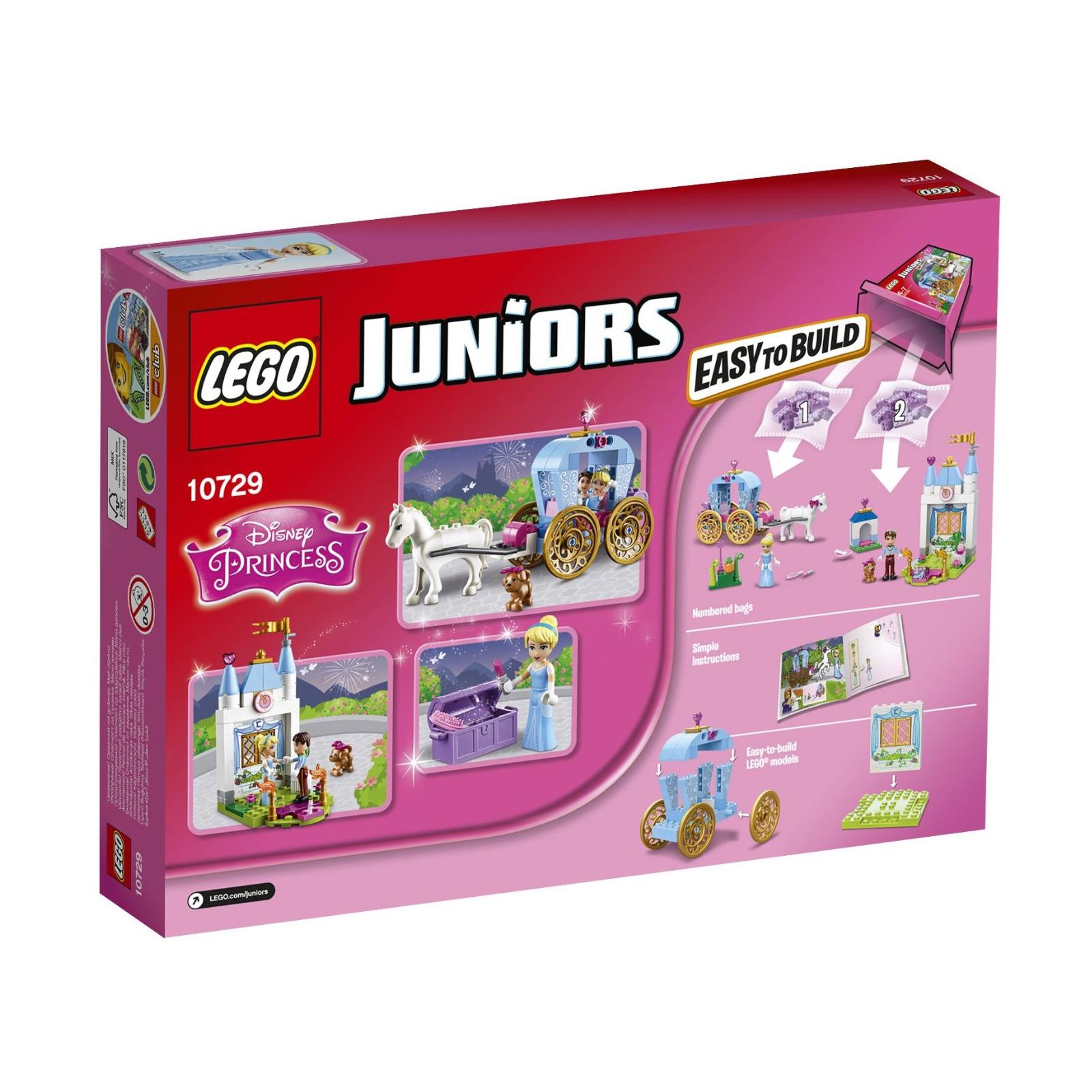 Конструктор LEGO Juniors Карета Золушки (10729) изображение 11