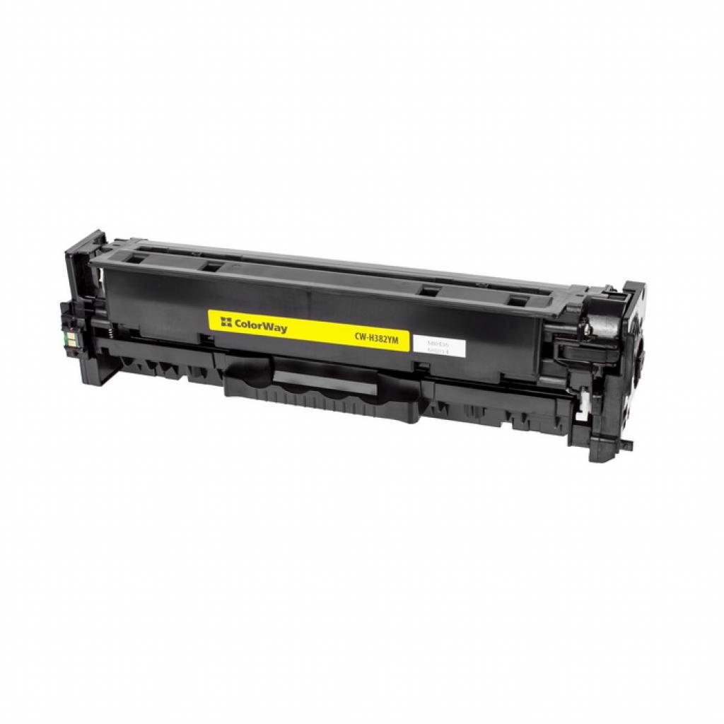 Картридж ColorWay для HP CLJ Pro M476 Yellow/CF382A (CW-H382YM)