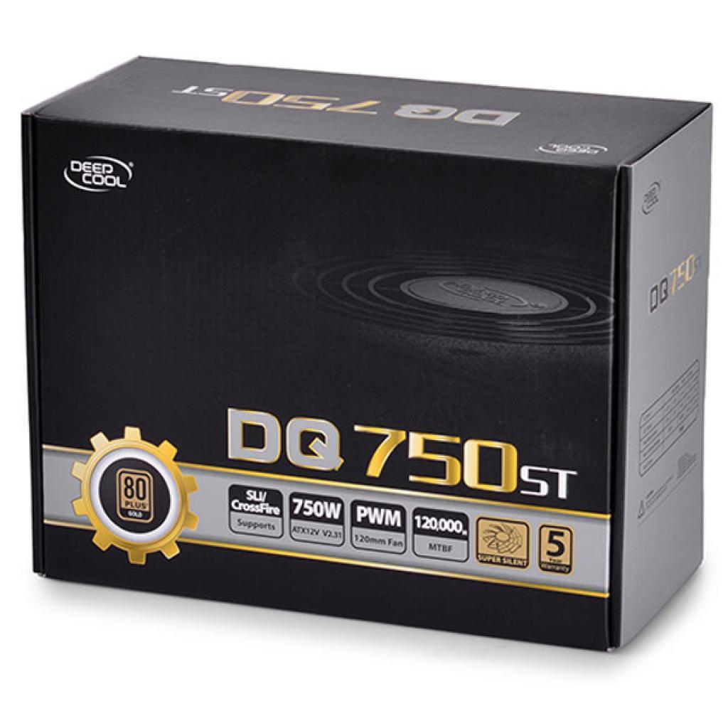 Блок питания Deepcool 750W (DQ750 ST) изображение 7