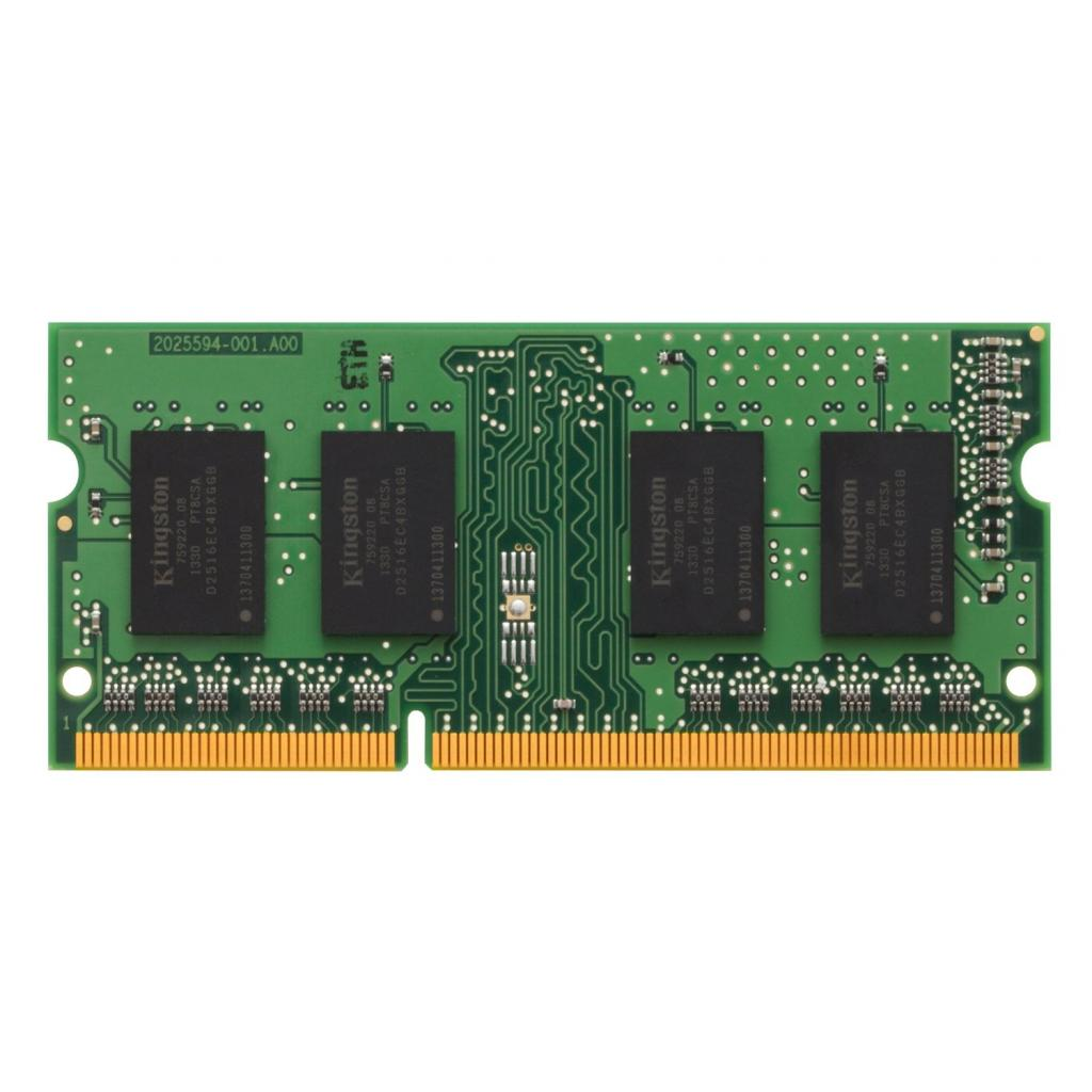 Модуль памяти для ноутбука SoDIMM DDR3 4GB 1600 MHz Kingston (KCP316SS8/4) изображение 2