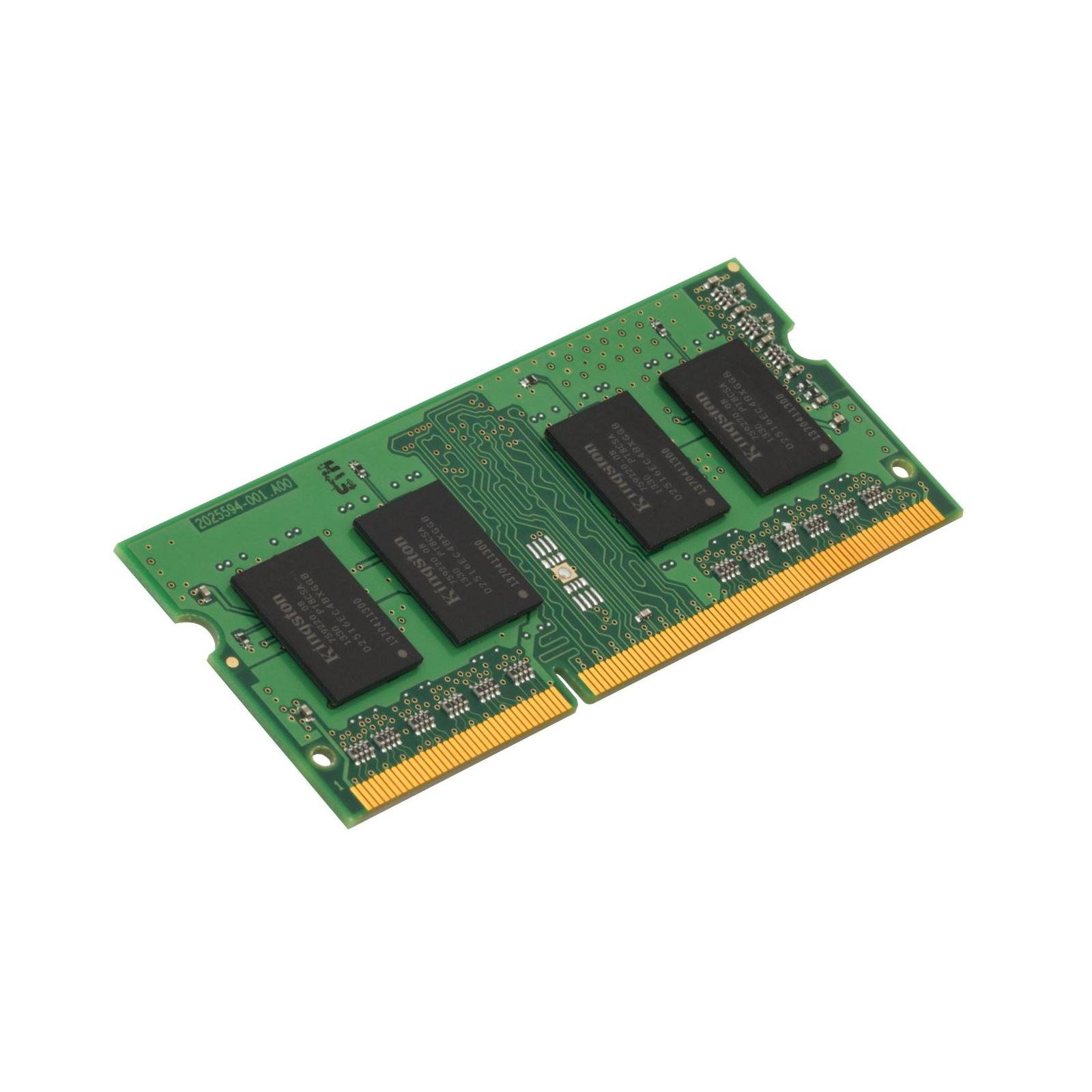 Модуль памяти для ноутбука SoDIMM DDR3 4GB 1600 MHz Kingston (KCP316SS8/4) изображение 3