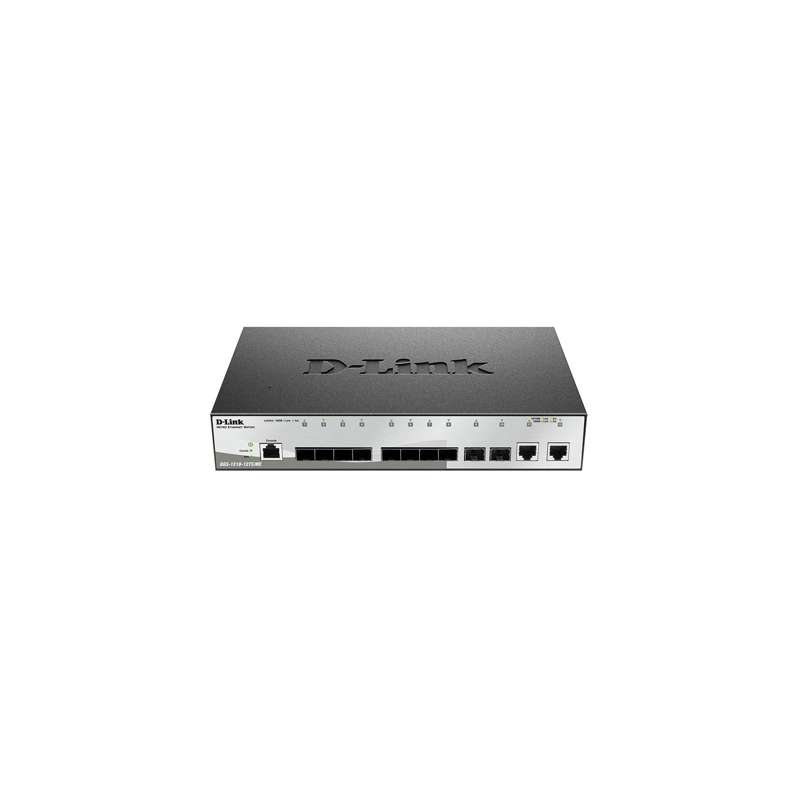Коммутатор сетевой D-Link DGS-1210-12TS/ME