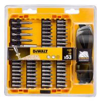 Набір біт DeWALT бит, магнит. держатель, 53 предм. (DT71540)