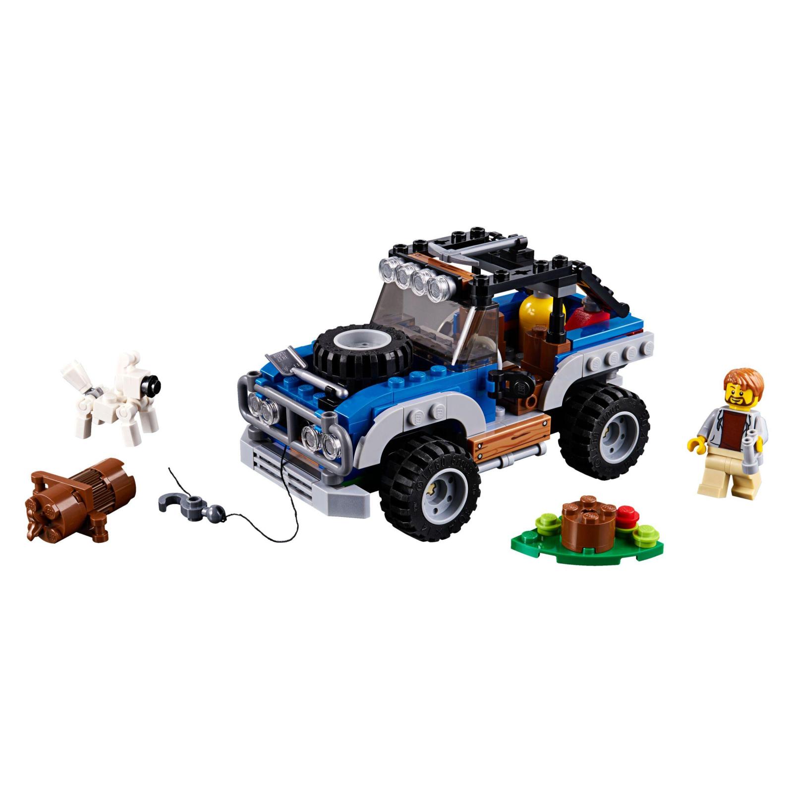 Конструктор LEGO Creator Приключения в глуши (31075) изображение 2