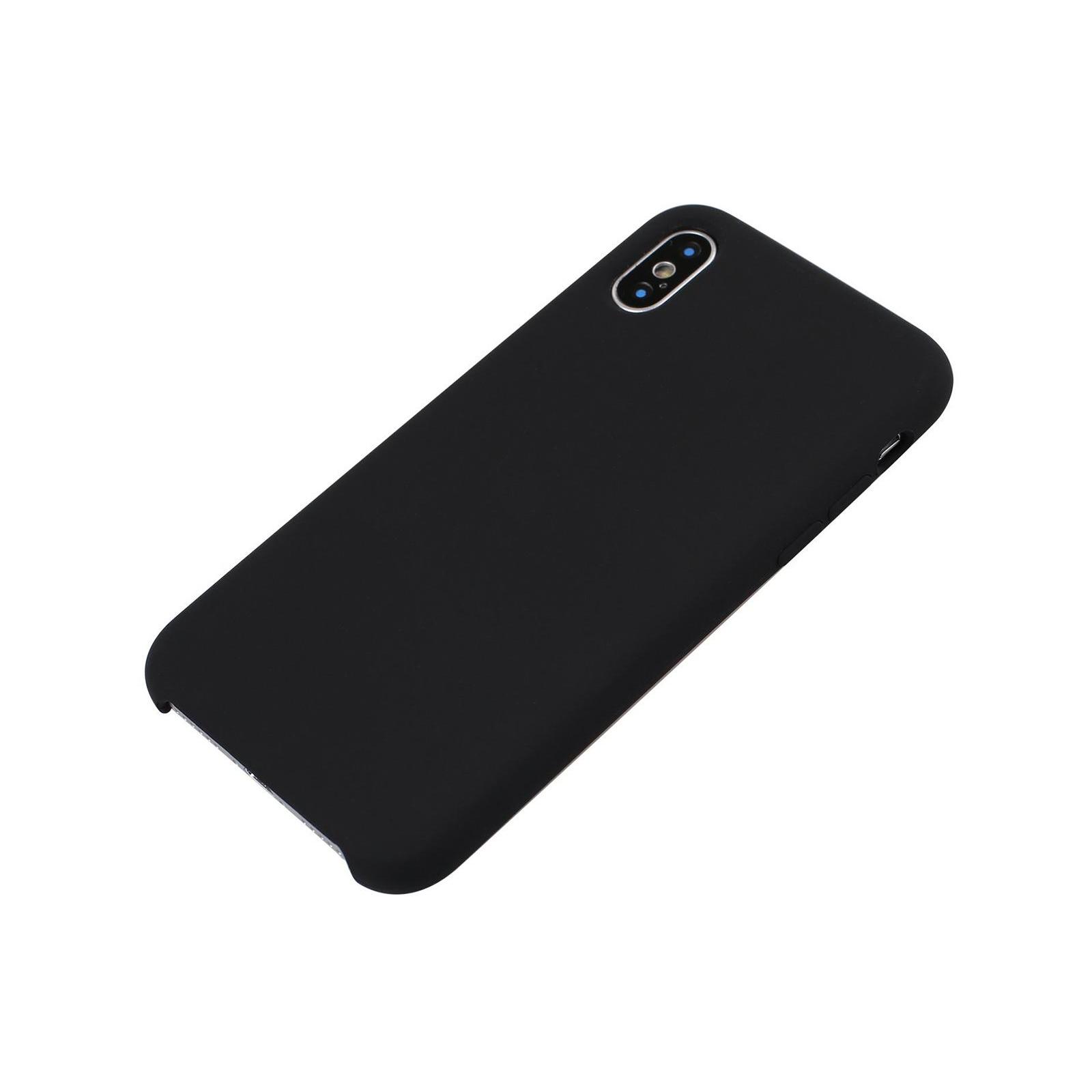 Чехол для моб. телефона Laudtec для iPhone X/XS liquid case (black) (LT-IXLC) изображение 10