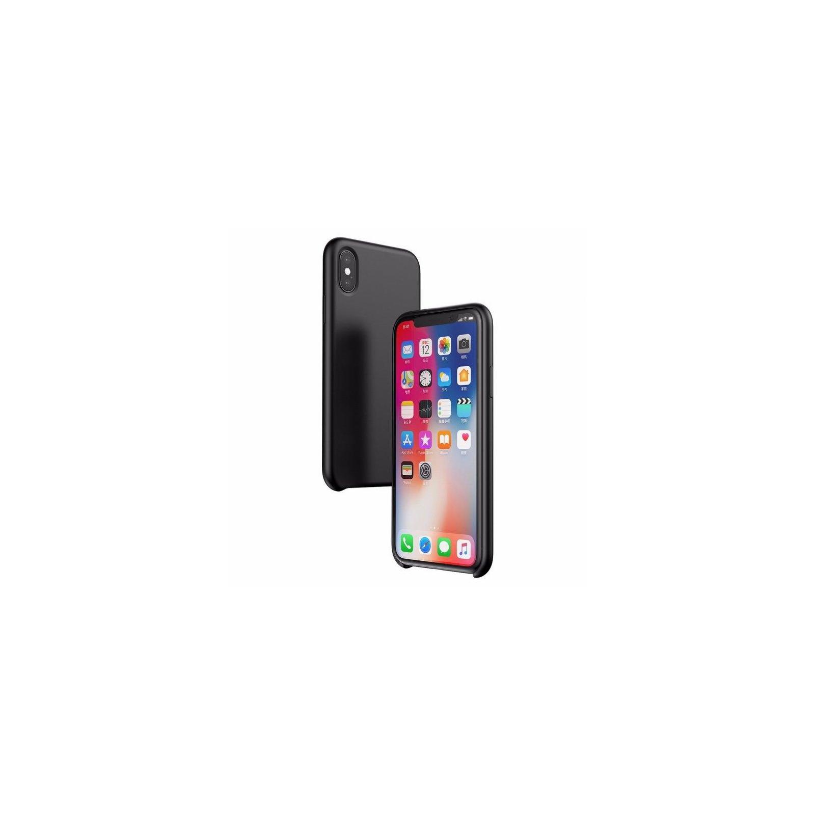 Чехол для моб. телефона Laudtec для iPhone X/XS liquid case (black) (LT-IXLC) изображение 11