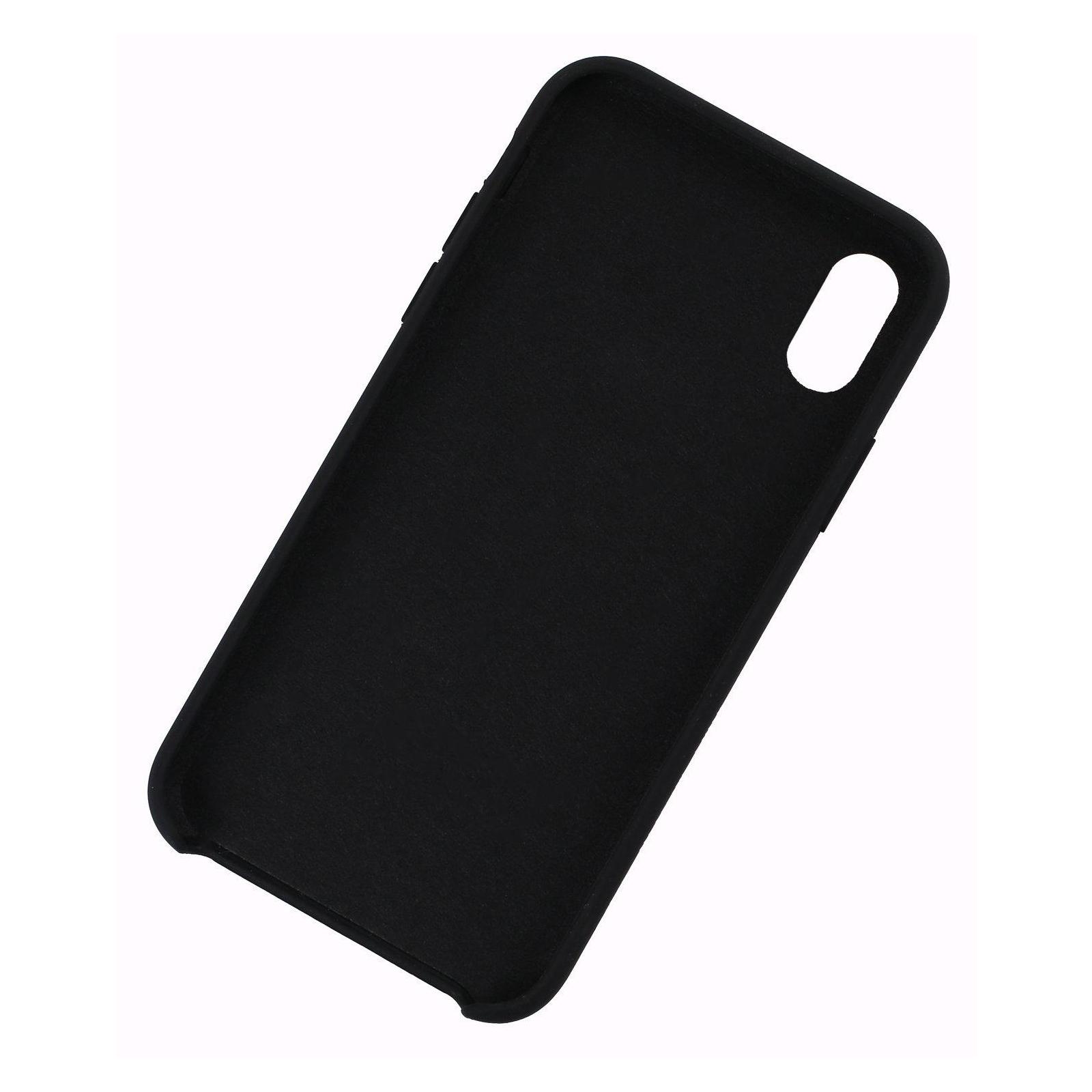 Чехол для моб. телефона Laudtec для iPhone X/XS liquid case (black) (LT-IXLC) изображение 5