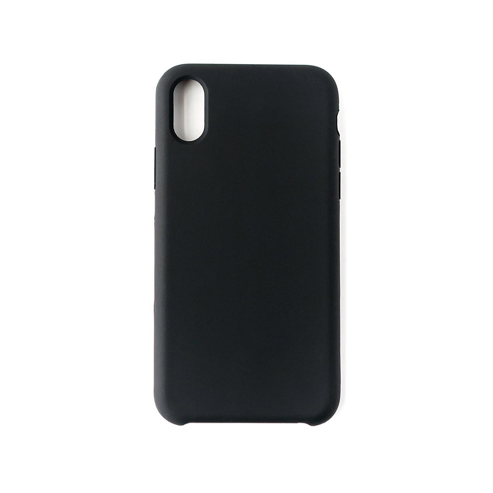 Чехол для моб. телефона Laudtec для iPhone X/XS liquid case (black) (LT-IXLC) изображение 6