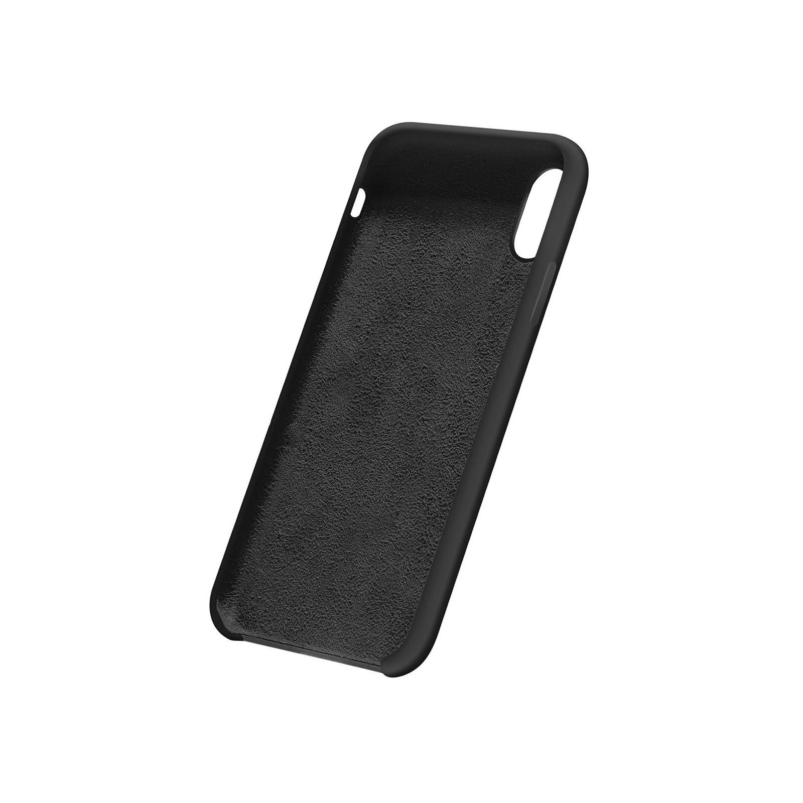 Чехол для моб. телефона Laudtec для iPhone X/XS liquid case (black) (LT-IXLC) изображение 8