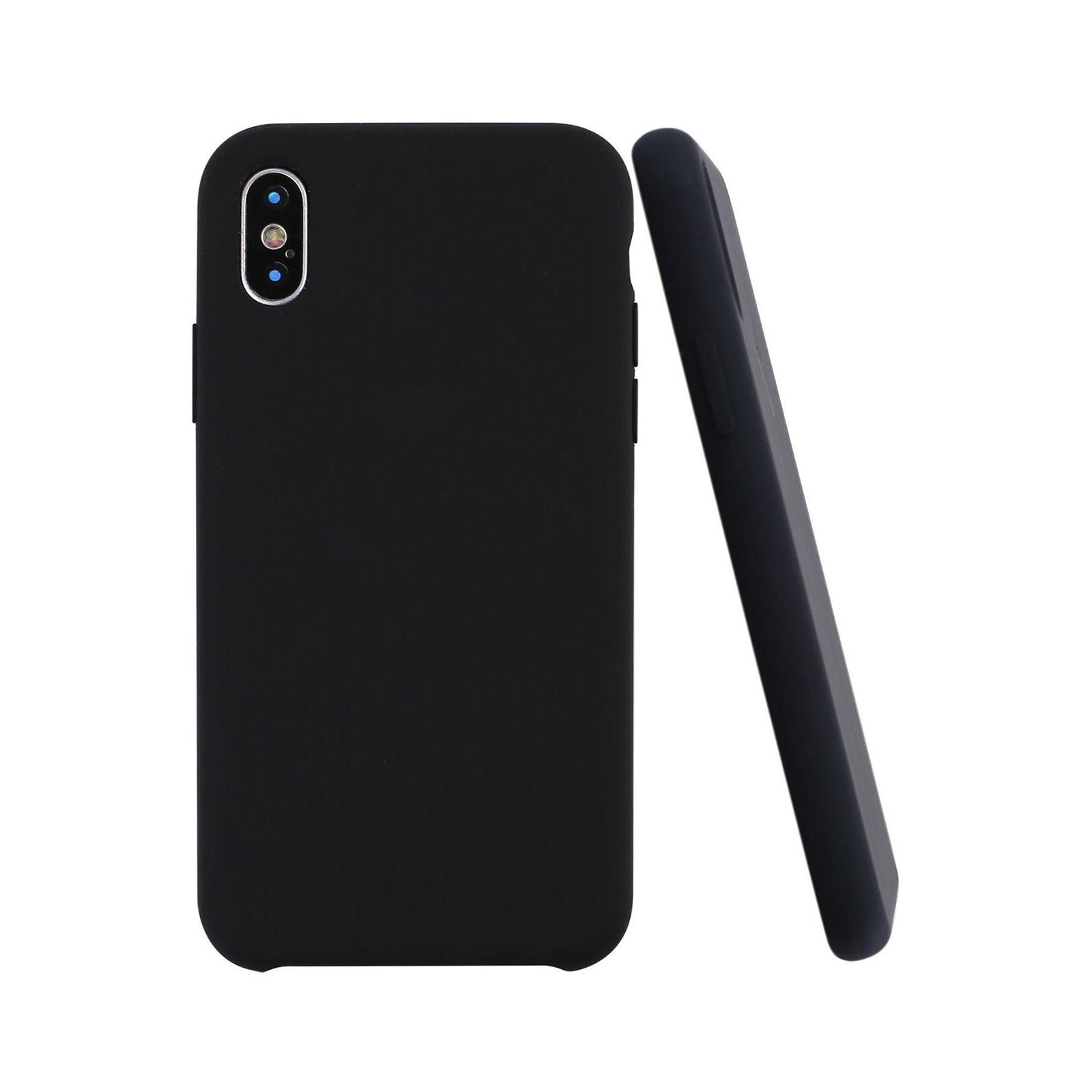 Чехол для моб. телефона Laudtec для iPhone X/XS liquid case (black) (LT-IXLC) изображение 9