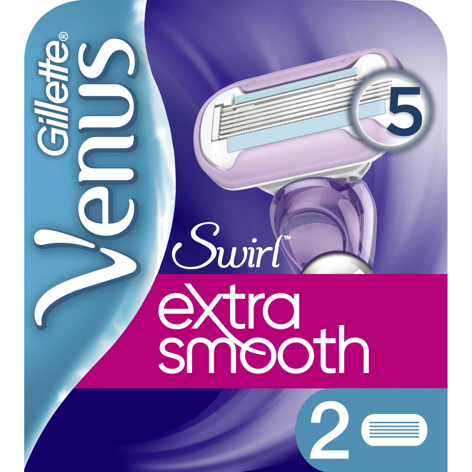 Сменные кассеты Gillette Venus Swirl, 2 шт (7702018401116)