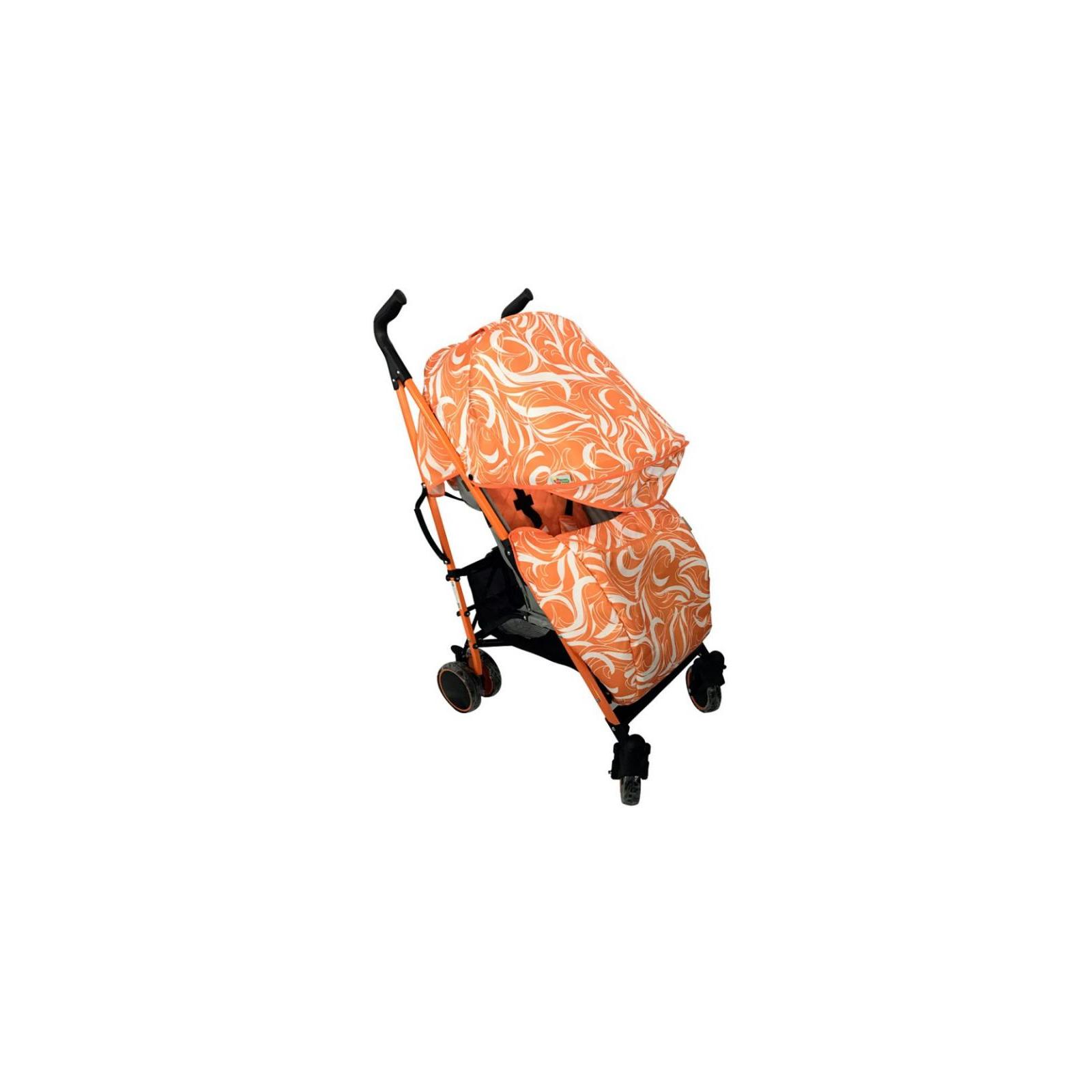 Коляска BabyHit Handy White-orange (22740) изображение 2