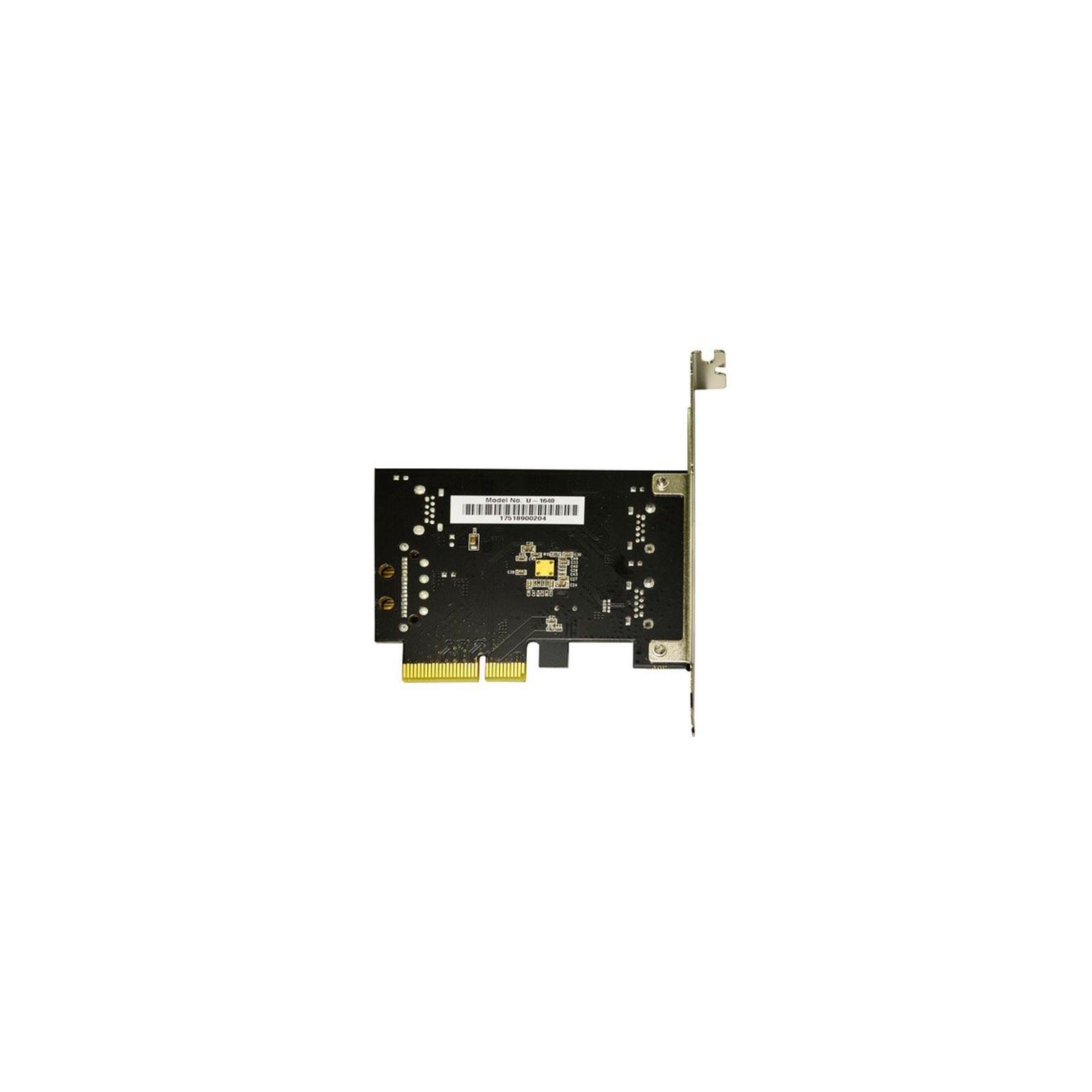 Контроллер PCI to USB3.1 Gen2 2xType-A PCI-E Gen-III x2+планка Low Prof ST-Lab (U-1640) изображение 4