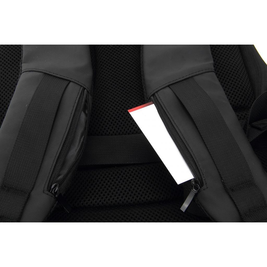 """Рюкзак для ноутбука DEF 15.6"""" DW-01 anti-theft black (378536) изображение 10"""