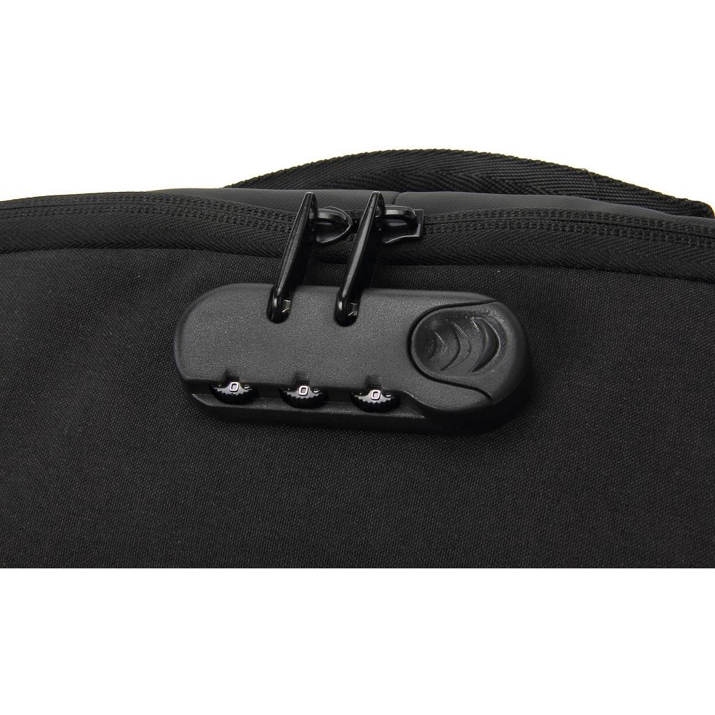 """Рюкзак для ноутбука DEF 15.6"""" DW-01 anti-theft black (378536) изображение 12"""