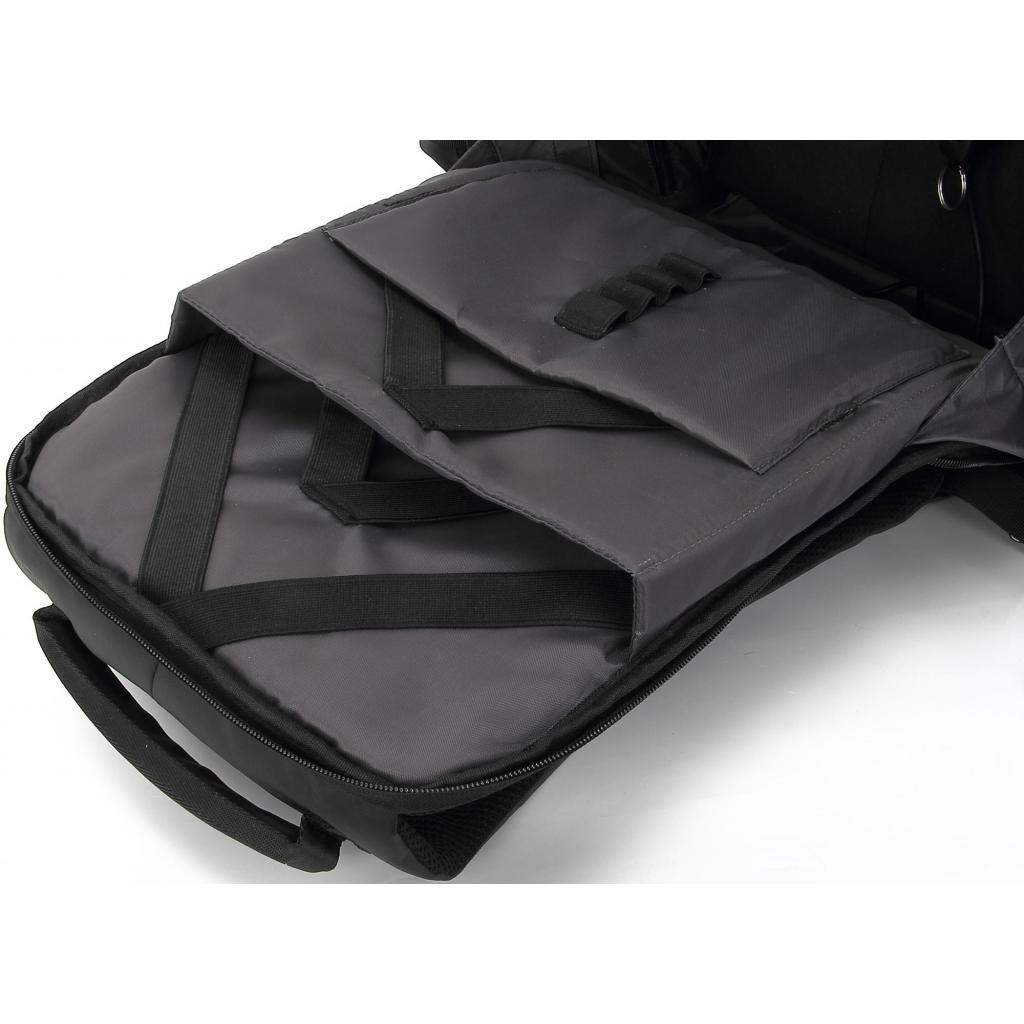 """Рюкзак для ноутбука DEF 15.6"""" DW-01 anti-theft black (378536) изображение 7"""