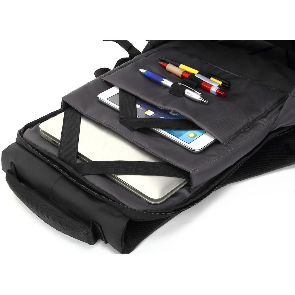 """Рюкзак для ноутбука DEF 15.6"""" DW-01 anti-theft black (378536) изображение 8"""