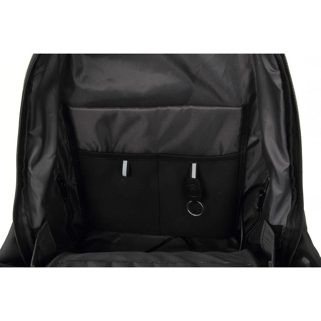 """Рюкзак для ноутбука DEF 15.6"""" DW-01 anti-theft black (378536) изображение 9"""
