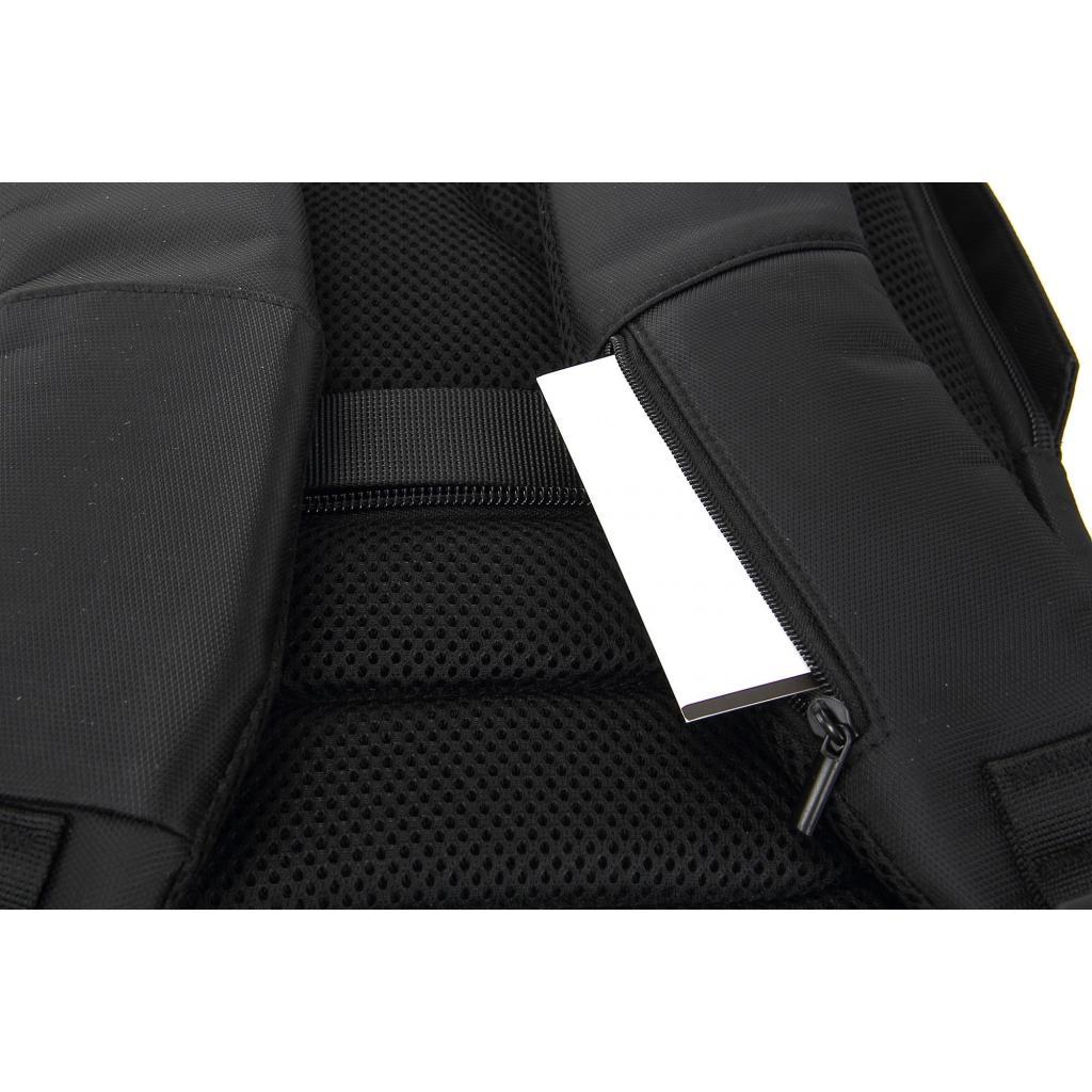 """Рюкзак для ноутбука DEF 15.6"""" DW-02 anti-theft black (378538) изображение 11"""