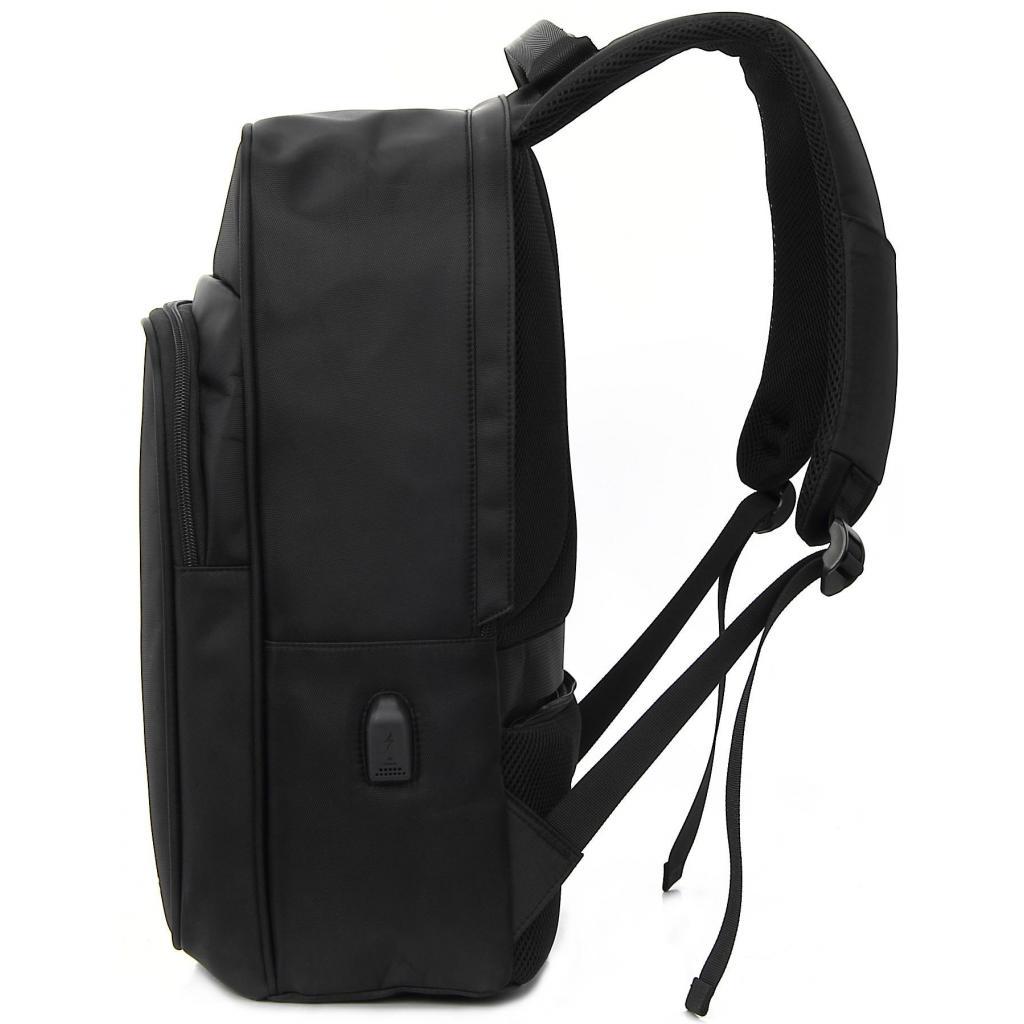 """Рюкзак для ноутбука DEF 15.6"""" DW-02 anti-theft black (378538) изображение 3"""