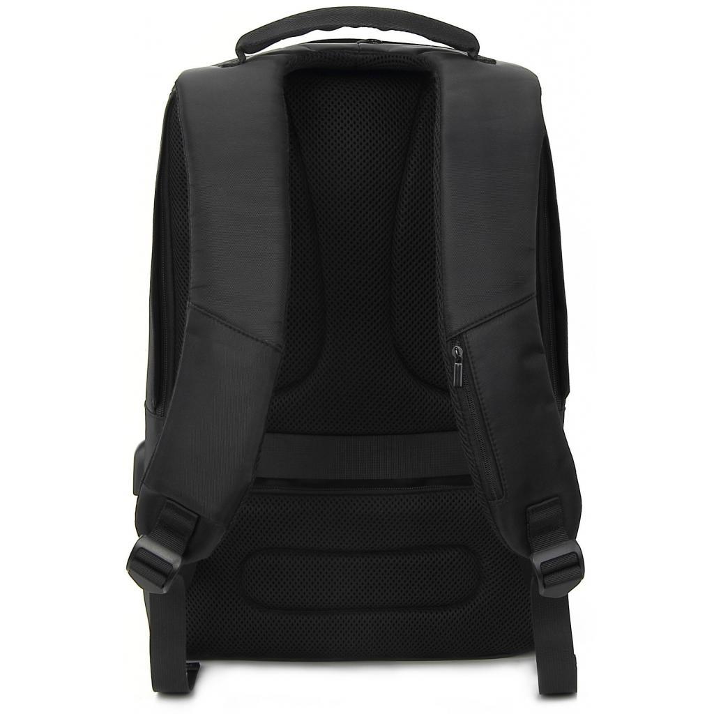 """Рюкзак для ноутбука DEF 15.6"""" DW-02 anti-theft black (378538) изображение 4"""