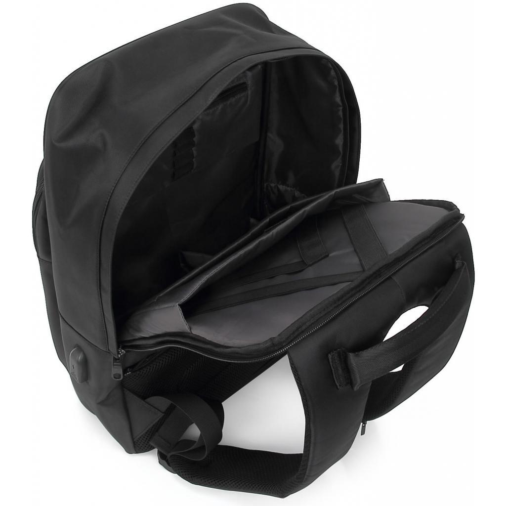"""Рюкзак для ноутбука DEF 15.6"""" DW-02 anti-theft black (378538) изображение 5"""