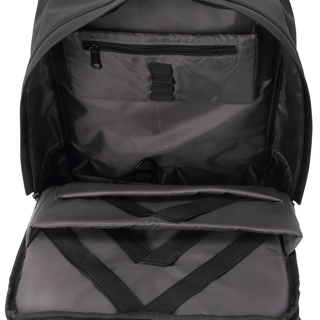 """Рюкзак для ноутбука DEF 15.6"""" DW-02 anti-theft black (378538) изображение 6"""