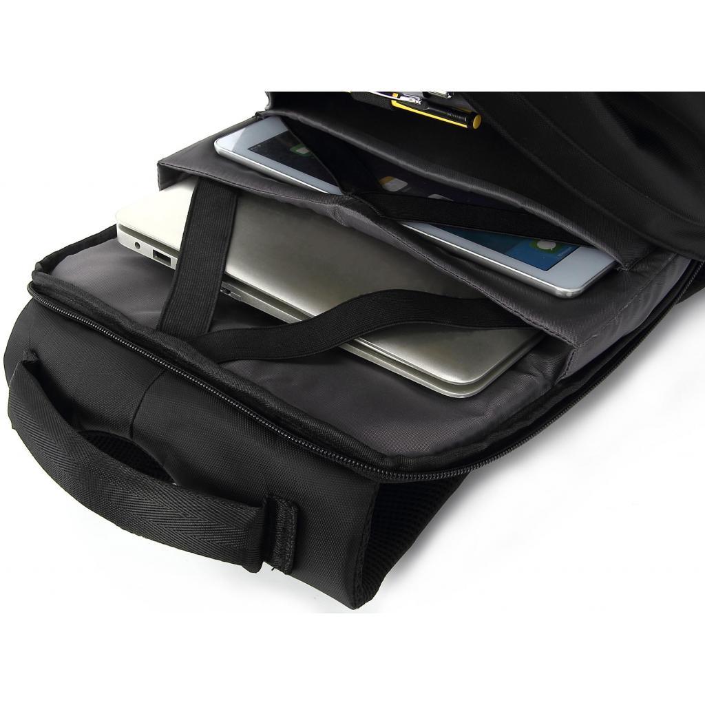 """Рюкзак для ноутбука DEF 15.6"""" DW-02 anti-theft black (378538) изображение 7"""