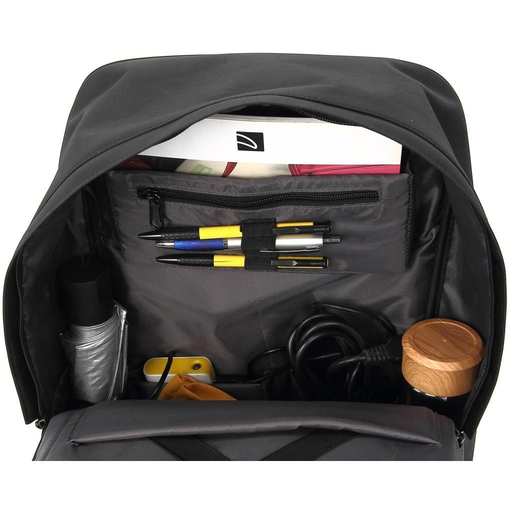 """Рюкзак для ноутбука DEF 15.6"""" DW-02 anti-theft black (378538) изображение 8"""