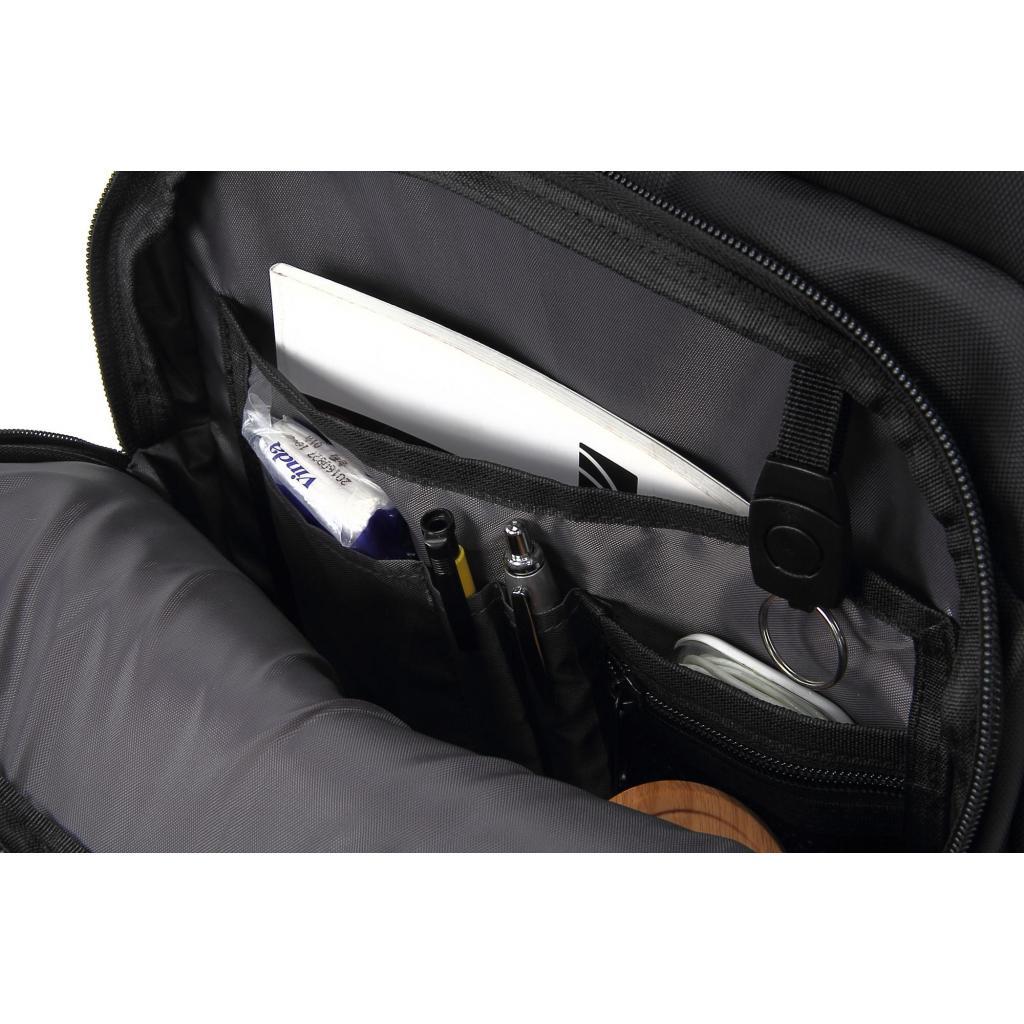 """Рюкзак для ноутбука DEF 15.6"""" DW-02 anti-theft black (378538) изображение 9"""