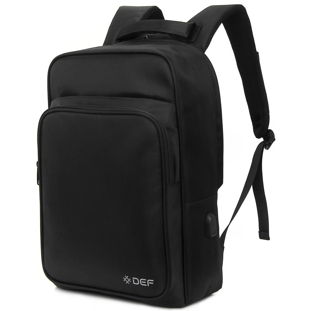 "Рюкзак для ноутбука DEF 15.6"" DW-02 anti-theft black (378538)"