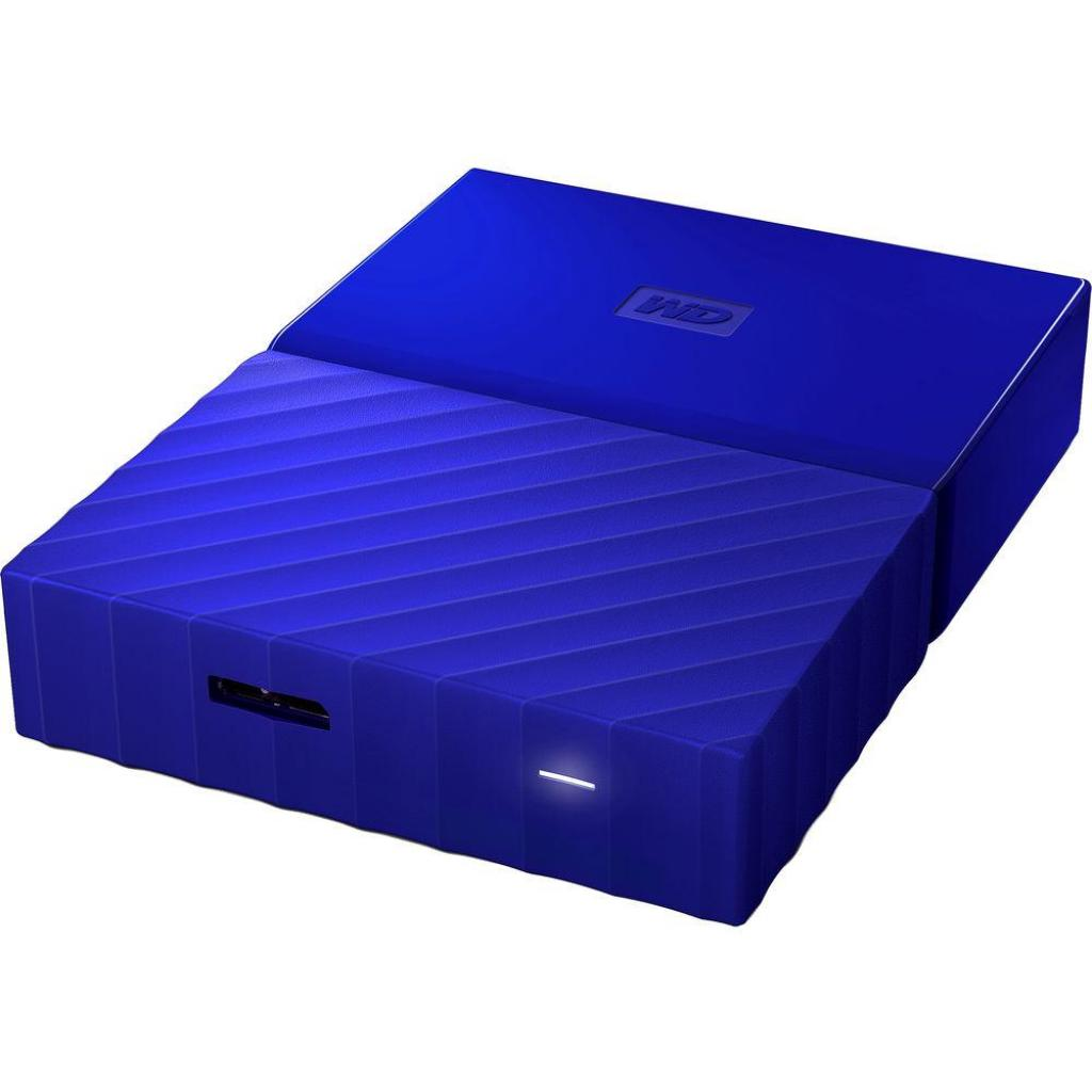 """Внешний жесткий диск 2.5"""" 2TB Western Digital (WDBS4B0020BBL-WESN) изображение 5"""
