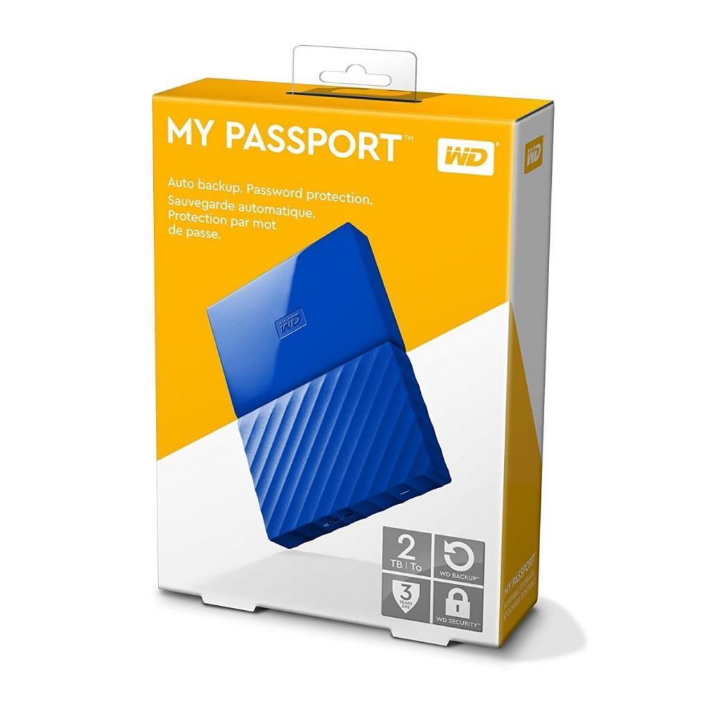 """Внешний жесткий диск 2.5"""" 2TB Western Digital (WDBS4B0020BBL-WESN) изображение 9"""