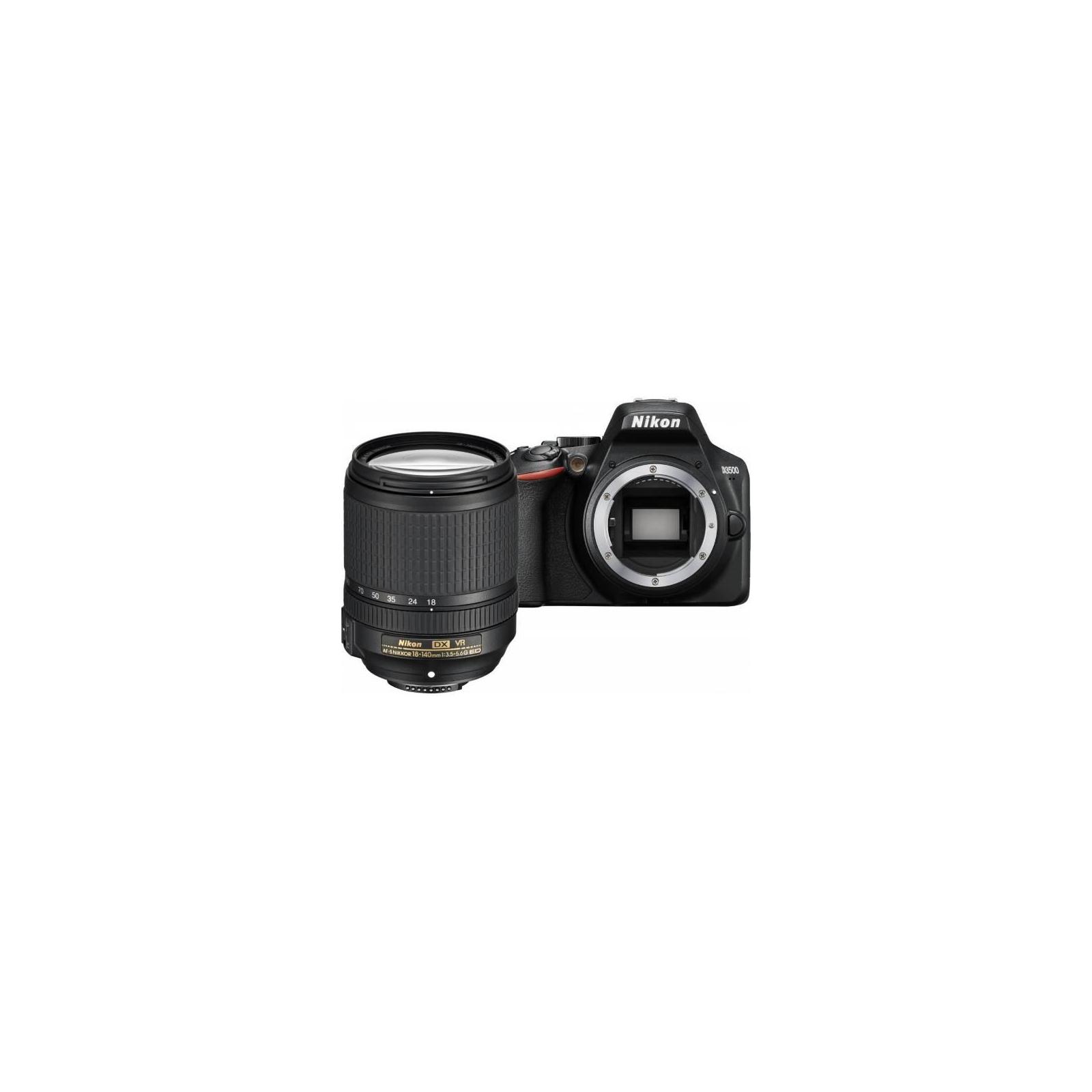 Цифровой фотоаппарат Nikon D3500 AF-S 18-140 VR kit (VBA550K004)