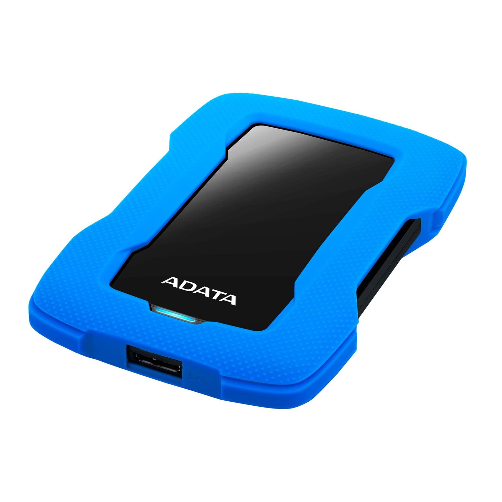 """Внешний жесткий диск 2.5"""" 1TB ADATA (AHD330-1TU31-CBL) изображение 3"""