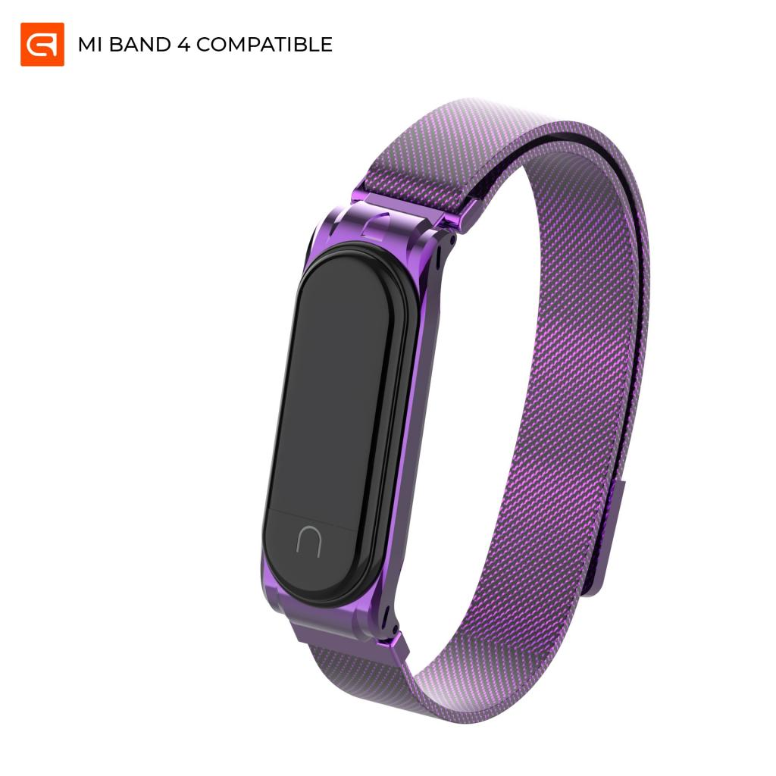 Ремешок для фитнес браслета Armorstandart Milanese Magnetic Band для Xiaomi Mi Band 4/3 Purple (ARM55028)