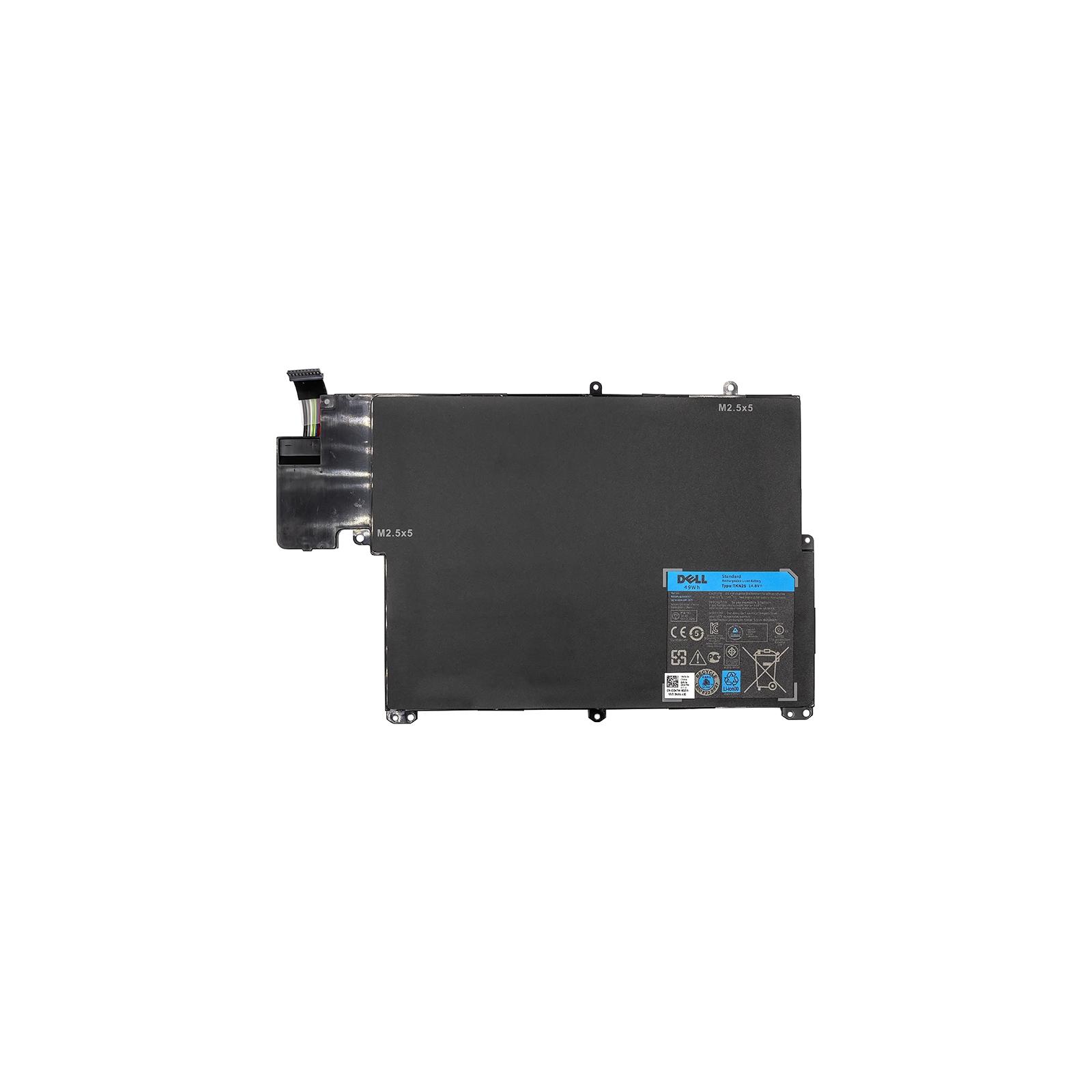 Аккумулятор для ноутбука Dell Inspiron 13z-5323 (TKN25) 14.8V 49Wh (NB440955) изображение 2