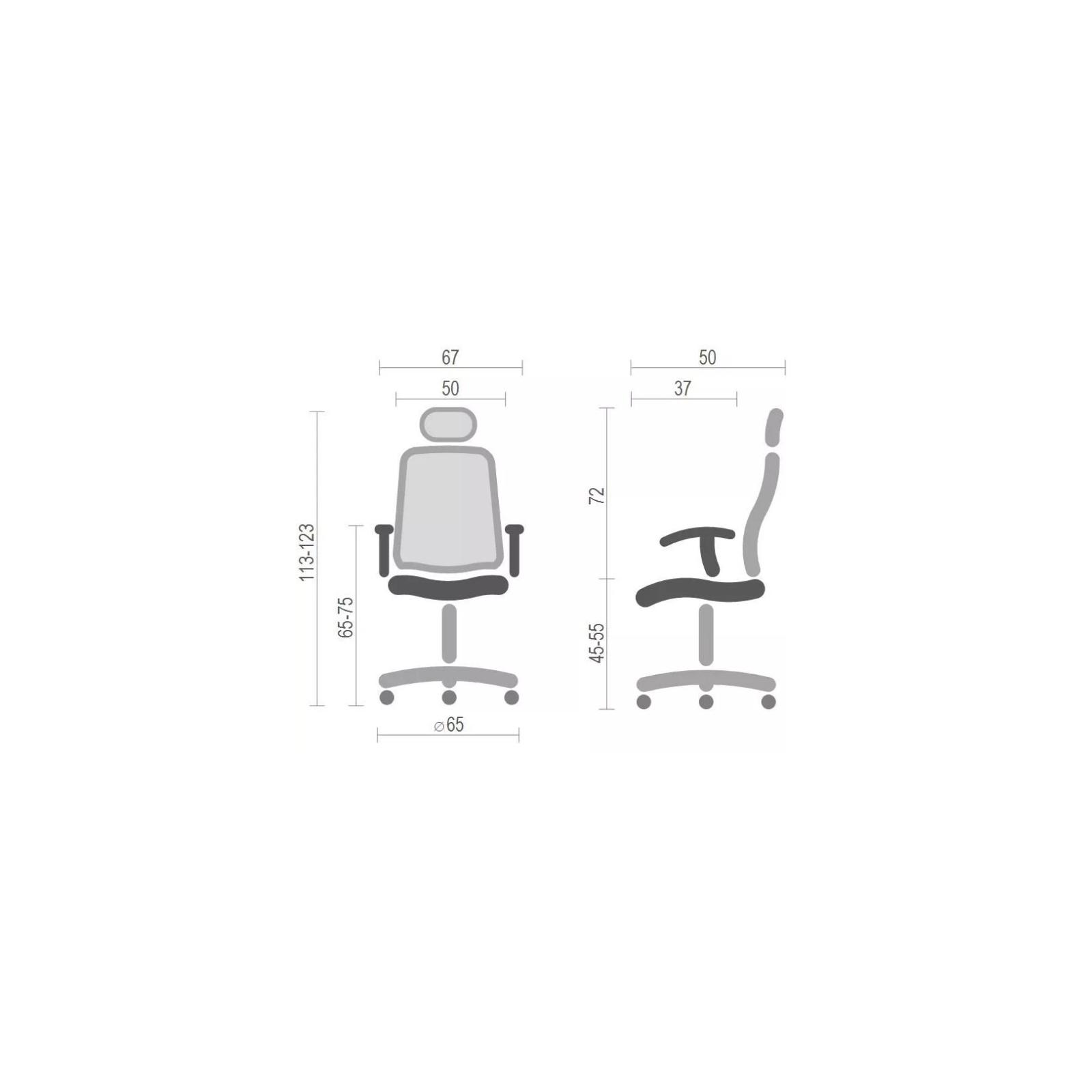 Офисное кресло Аклас Авангард CH SR Черное (12234) изображение 6