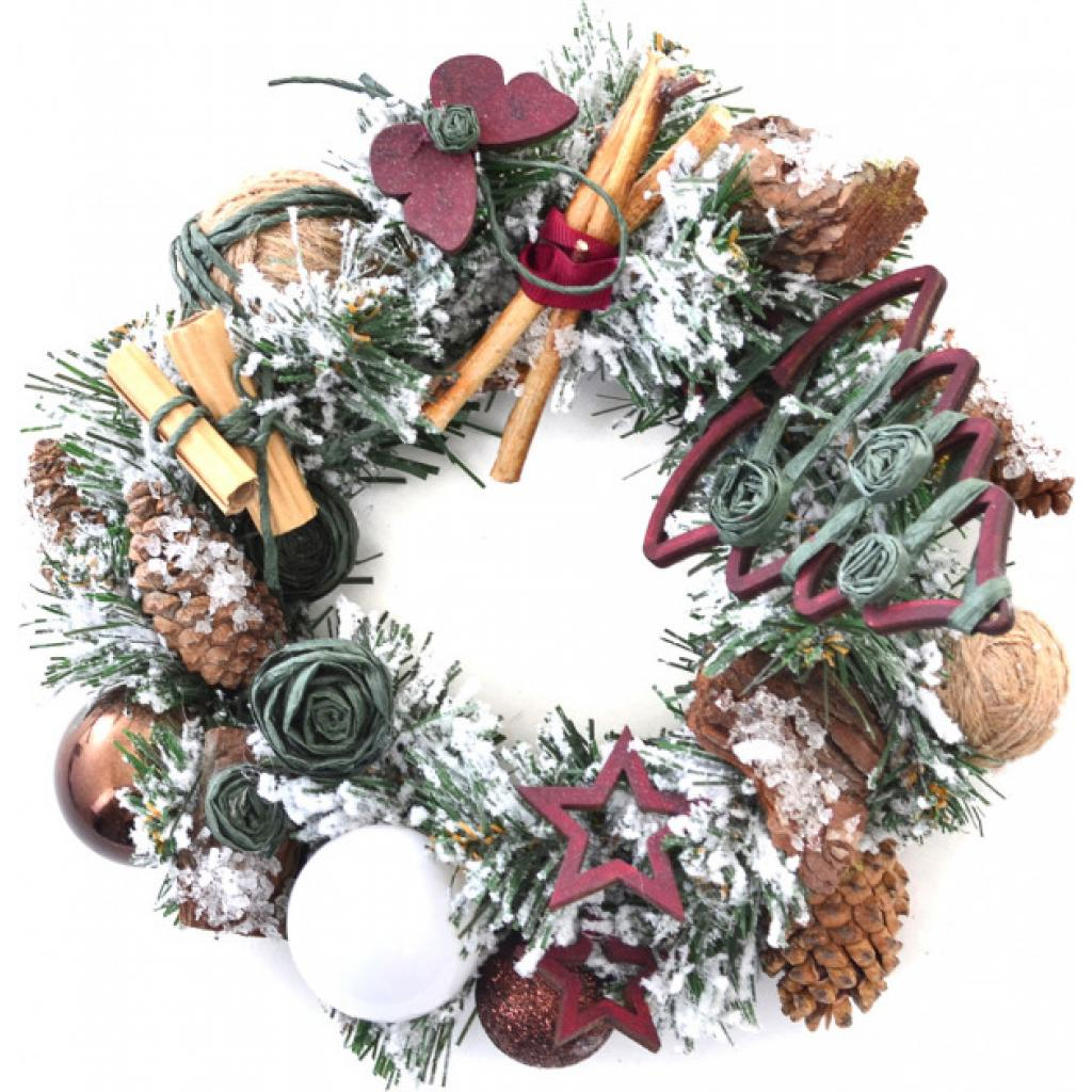 Украшение декоративное YES! Fun Рождественский венок Новогоднее чудо (904198) изображение 2