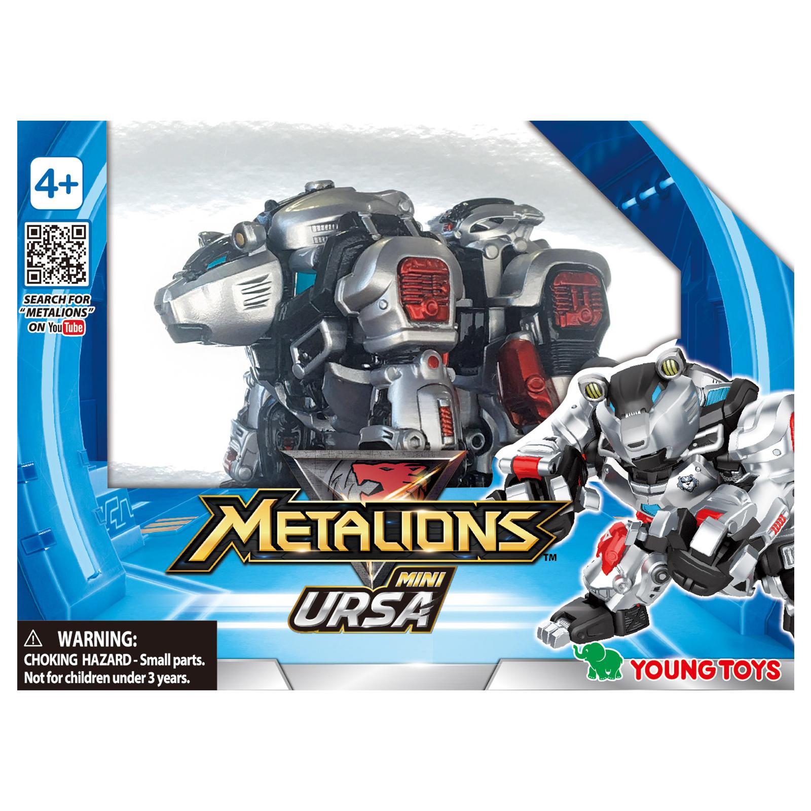 Трансформер Metalions мини Урса (314040) изображение 2