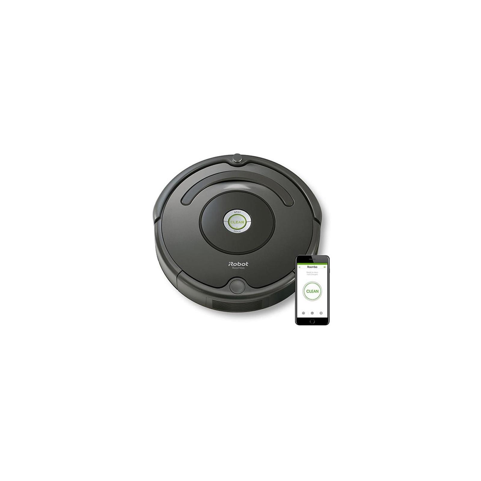 Пылесос iRobot Roomba 676 (R676040) изображение 3