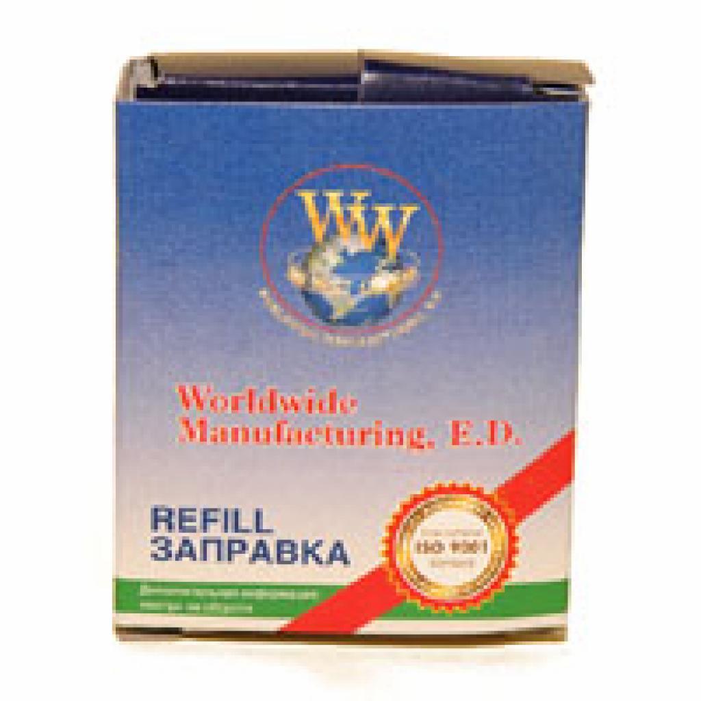 Лента к принтерам 13мм х 16м Refill STD Black кільце WWM (R13.16SC)