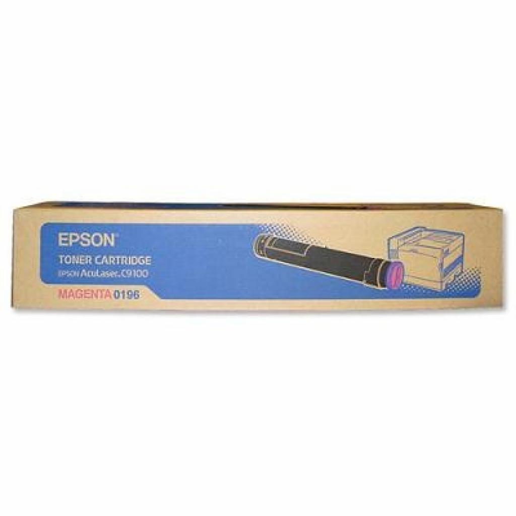 Картридж EPSON AcuLaser C9100 magenta (C13S050196)