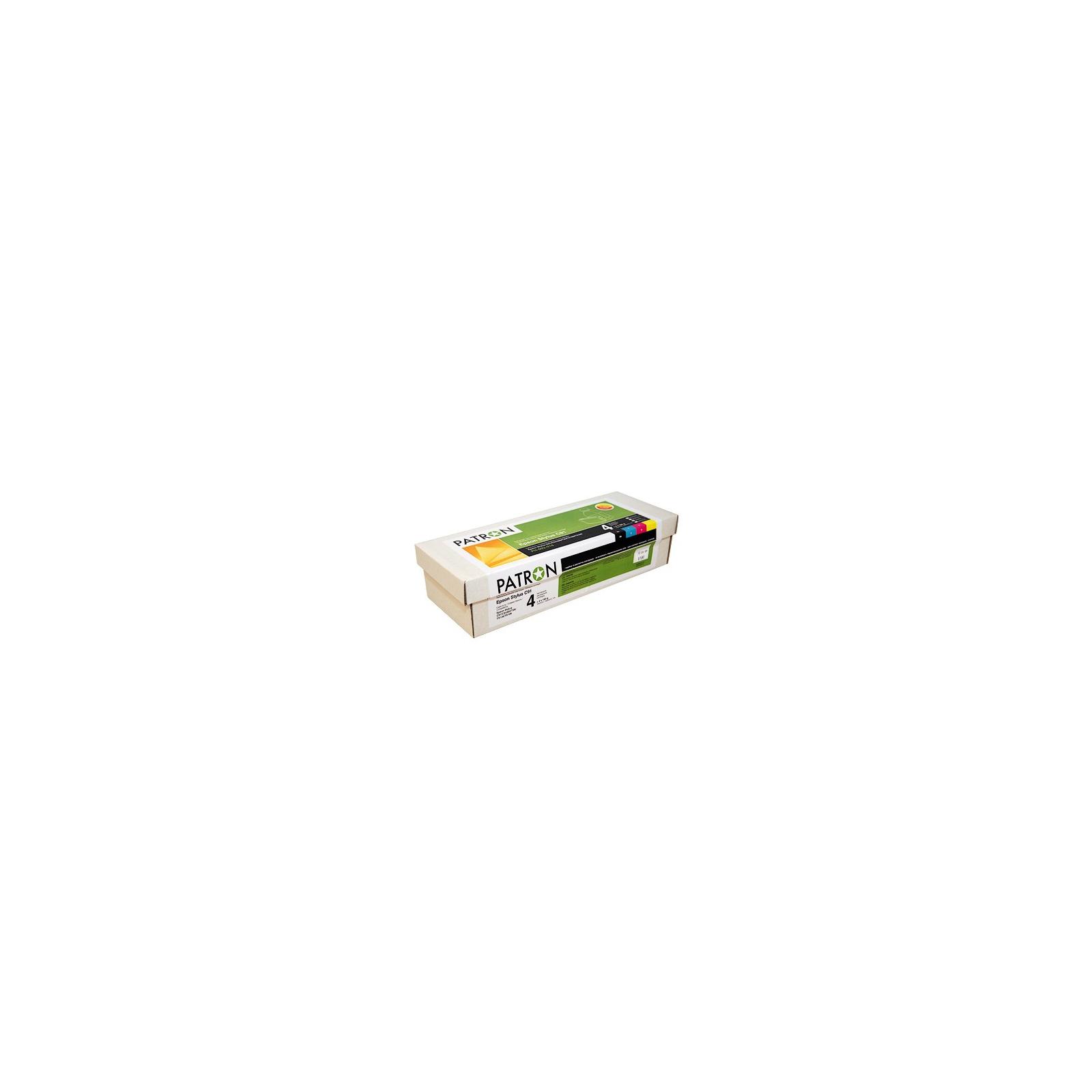 Комплект перезаправляемых картриджей PATRON Epson C91/CX4300/T26/27/TX106/117 (CIR-PN-ET092-018)