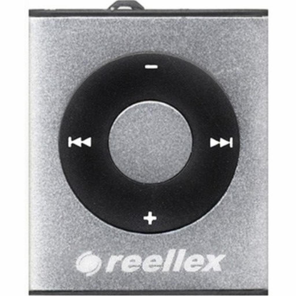 mp3 плеер Reellex UP-26 4GB Silver (UP-26 Silver)