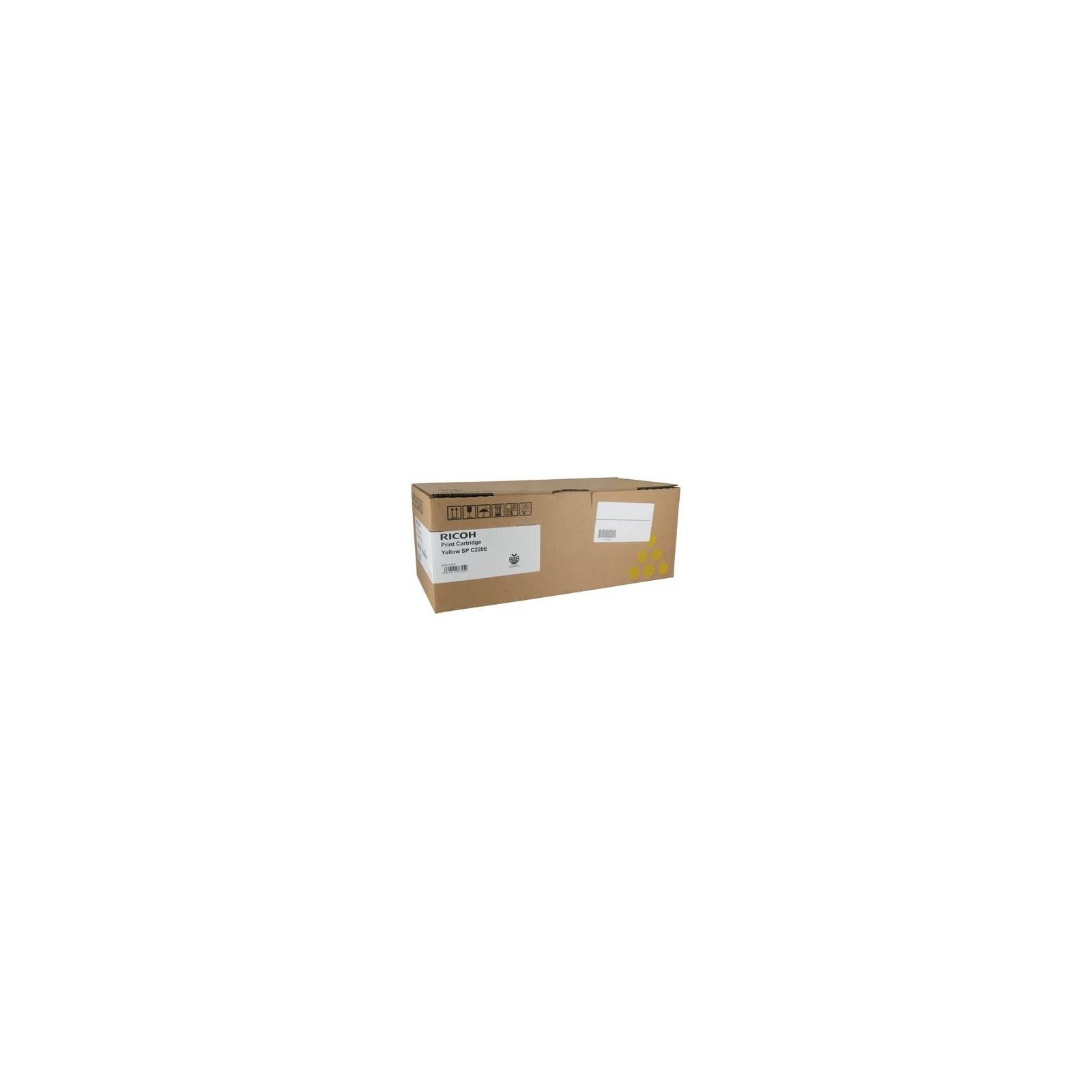 Тонер-картридж Ricoh SPC220/SPC240/SPC242 Yellow 2,3K (406768)