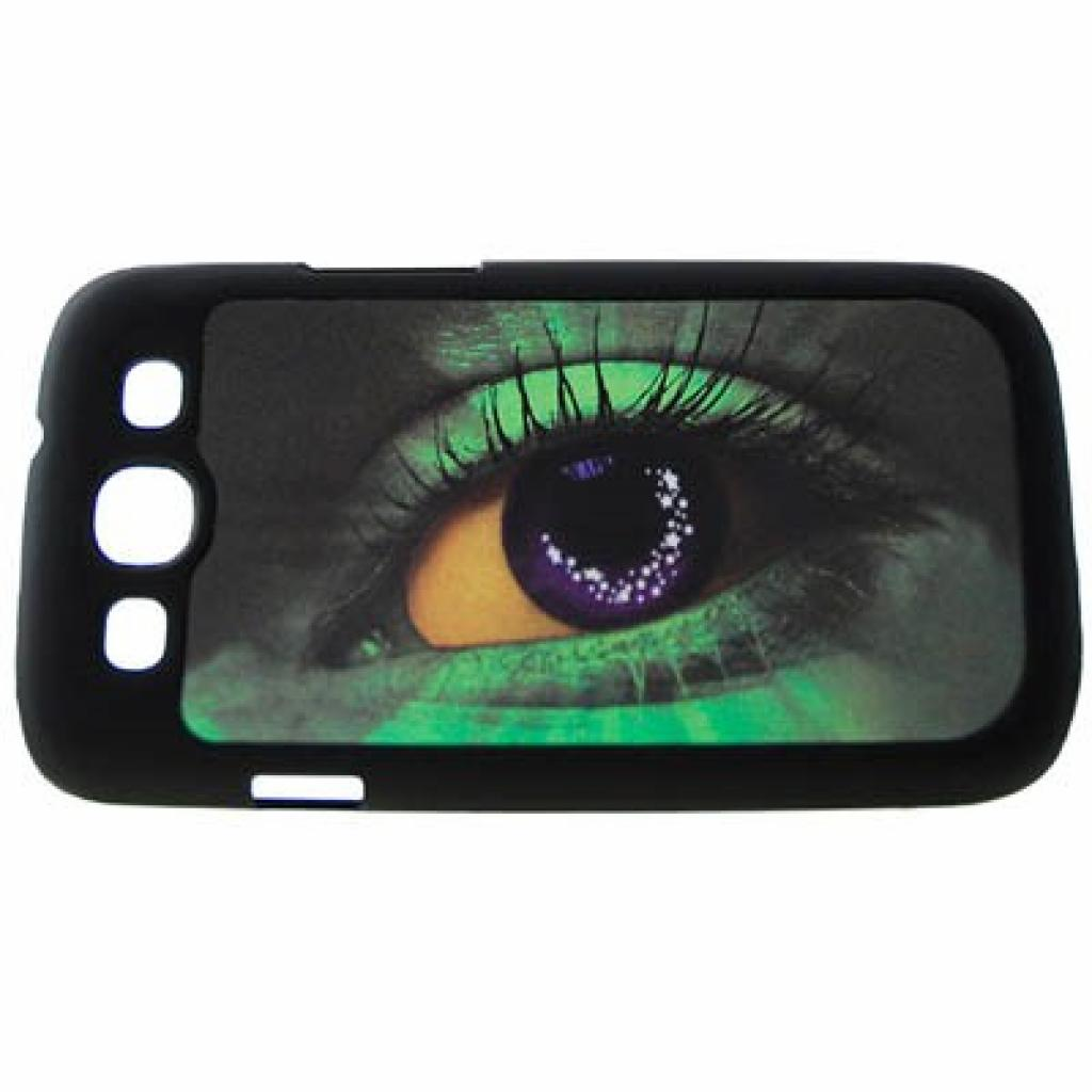 Чехол для моб. телефона Drobak для Samsung I9300 Galaxy S3 (eye)3D (938906)