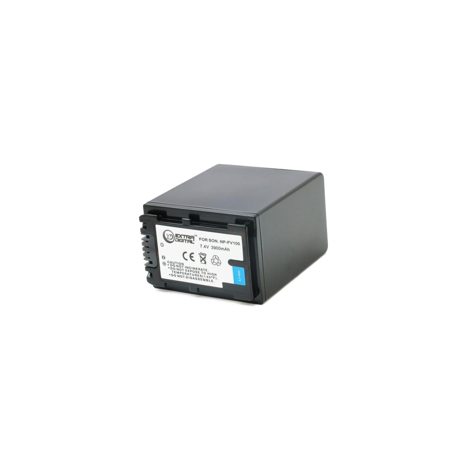 Аккумулятор к фото/видео EXTRADIGITAL Sony NP-FV100 (BDS2674 / DV00DV1271) изображение 2