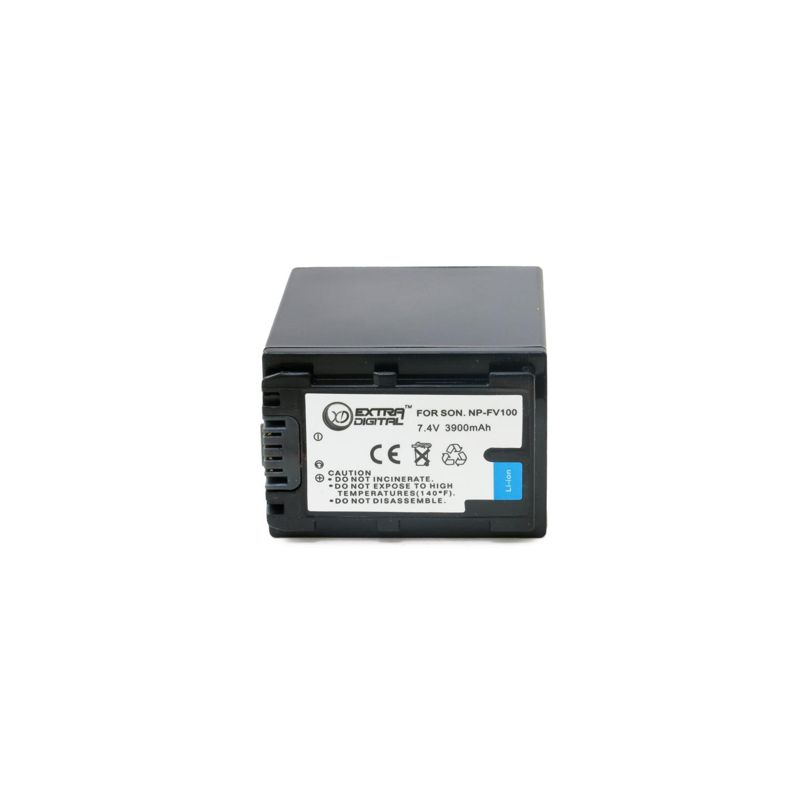 Аккумулятор к фото/видео EXTRADIGITAL Sony NP-FV100 (BDS2674 / DV00DV1271) изображение 3